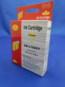 Zamiennik do Brother LC 970 / LC 1000 yellow